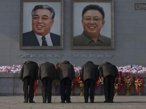 Reverence to Kim il-Sung and Kim Jong-il is compulsory